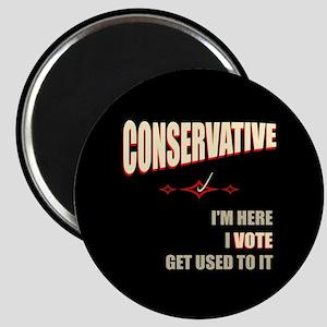 Conservative I Vote Magnet