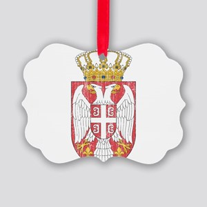 Serbia Lesser Coat Of Arms Picture Ornament