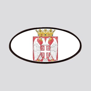 Serbia Lesser Coat Of Arms Patches