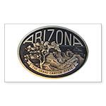 Arizona GC Sticker (Rectangle 10 pk)