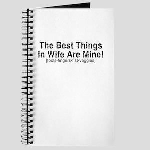 Best Things In Wife - Journal