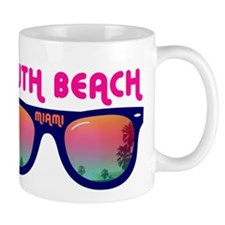 South Beach Miami Mug