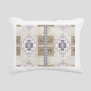 Navajo Pattern Desert Sa Rectangular Canvas Pillow