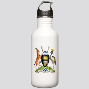 Uganda Coat Of Arms Stainless Water Bottle 1.0L