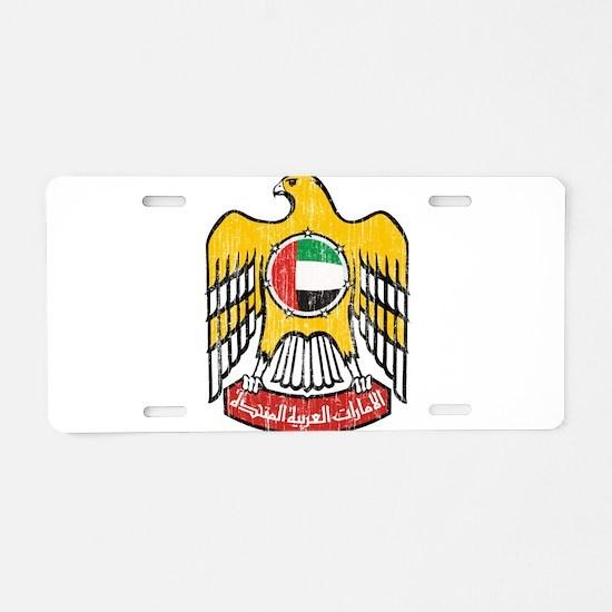 United Arab Emirates Coat Of Arms Aluminum License