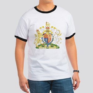 United Kingdom Coat Of Arms Ringer T