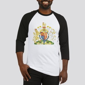 United Kingdom Coat Of Arms Baseball Jersey