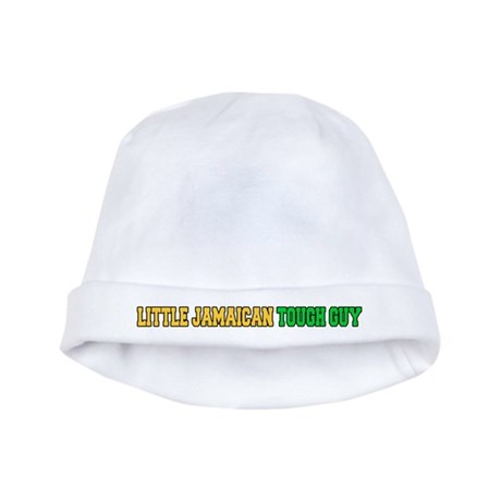 Little Jamaican Tough Guy baby hat