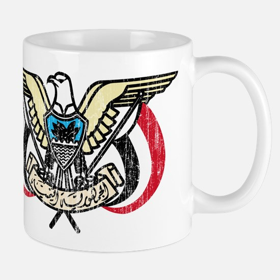 Yemen Coat Of Arms Mug