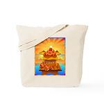 Art Shirt 'Red Fuji' Tote Bag