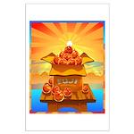 Art Shirt 'Red Fuji' Large Poster