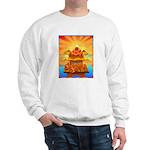 Art Shirt 'Red Fuji' Sweatshirt