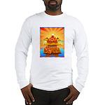 Art Shirt 'Red Fuji' Long Sleeve T-Shirt