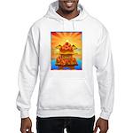Art Shirt 'Red Fuji' Hooded Sweatshirt