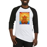 Art Shirt 'Red Fuji' Baseball Jersey