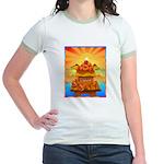 Art Shirt 'Red Fuji' Jr. Ringer T-Shirt