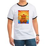 Art Shirt 'Red Fuji' Ringer T
