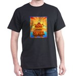 Art Shirt 'Red Fuji' Black T-Shirt