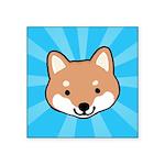 Shiba Inu Square Sticker 3