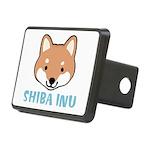 Shiba Inu Rectangular Hitch Cover