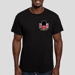 British Soldier Pengui Men's Fitted T-Shirt (dark)