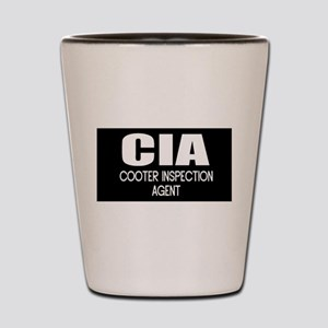 Cooter Inspection Agent Shot Glass