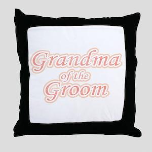 Grandma of the Groom Throw Pillow