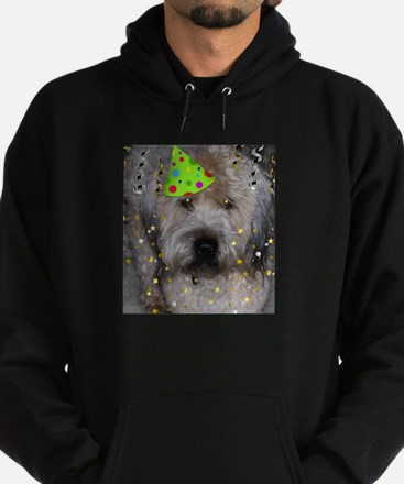Party Animal Wheaton Terrier Hoodie (dark)