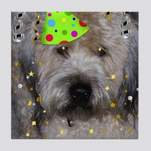 Party Animal Wheaton Terrier Tile Coaster