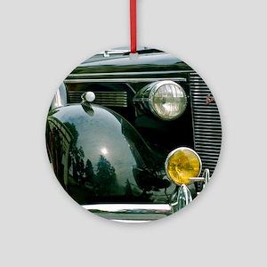 Classic Car Ornament (Round)