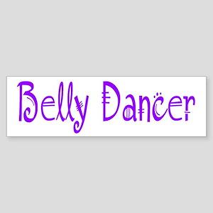 Belly Dancer Bumper Sticker