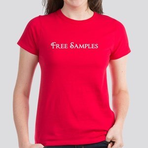 Free Samples Women's Dark T-Shirt