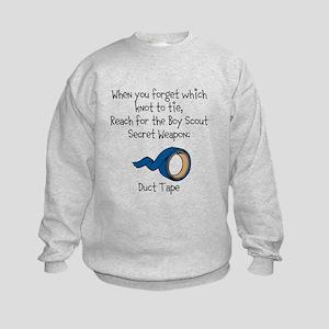 Scout Secret Weapon Kids Sweatshirt