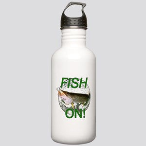 Musky fish on Stainless Water Bottle 1.0L