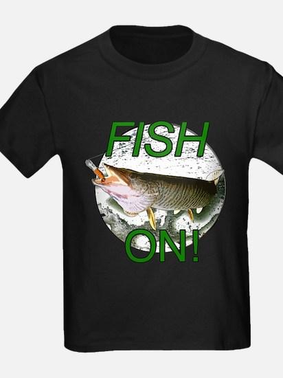 Musky fish on T