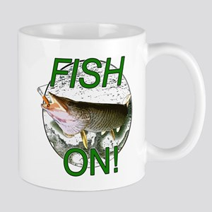 Musky fish on Mug