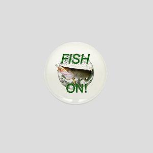 Musky fish on Mini Button