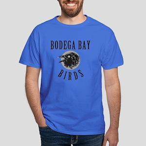 Bodega Bay Birds Dark T-Shirt