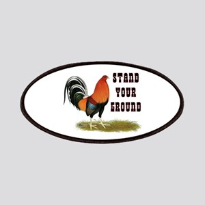 Stand Your Ground Rooster Patches
