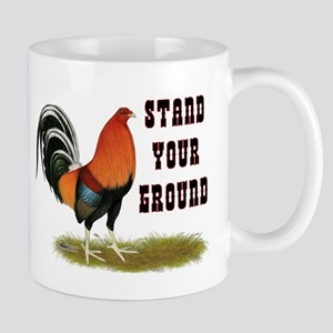 Stand Your Ground Rooster Mug