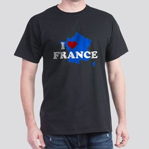 I heart France Dark T-Shirt
