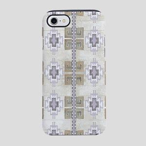 Navajo Pattern Desert Sand Lav iPhone 7 Tough Case