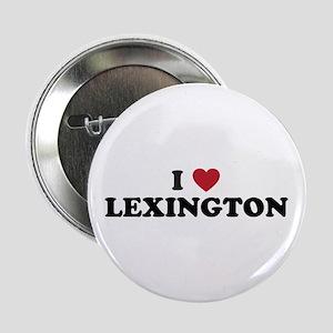 """I Love Lexington Kentucky 2.25"""" Button"""