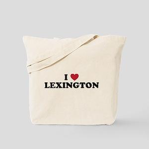 I Love Lexington Kentucky Tote Bag