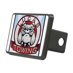Lucas Towing Logo NEW Rectangular Hitch Cover