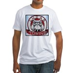 Lucas Towing Logo NEW Fitted T-Shirt