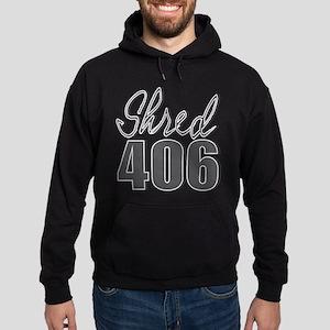 Shred 406 Original Logo Hoodie (dark)