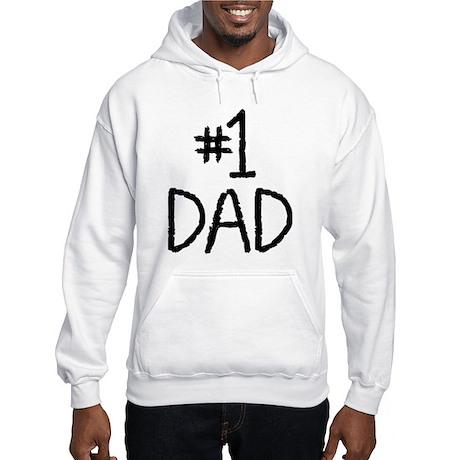 Number 1 dad Hooded Sweatshirt