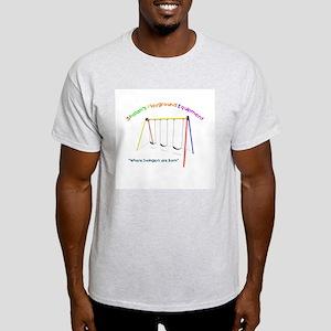 Playground Ash Grey T-Shirt
