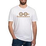 Democrat Doo Doo Economics Fitted T-Shirt